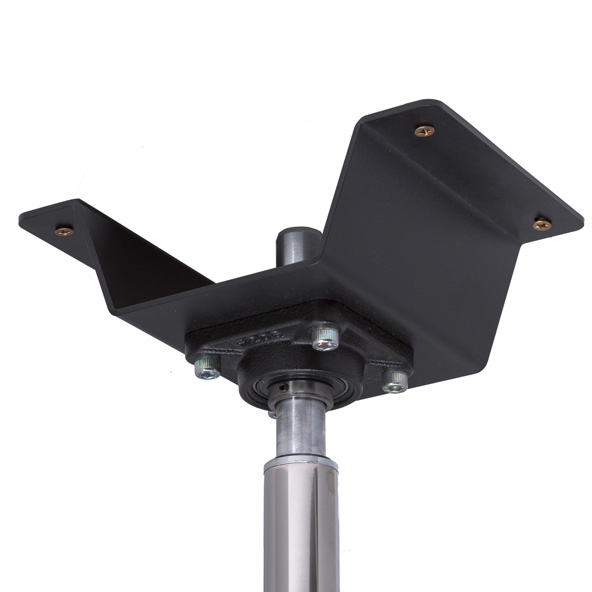 LUPIT POLE -  STUDIO CHAMPION Stainless steel 45mm PERMANENT ceiling mount