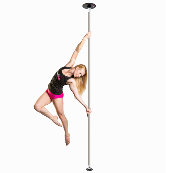 LUPIT POLE - CLASSIC stainless steel 42MM PORTABLE DANCE POLE
