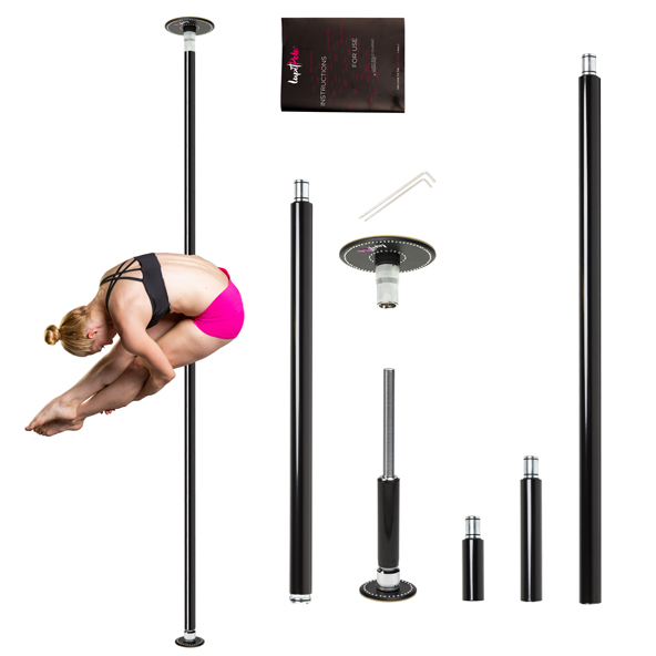 LUPIT POLE -  diamond G2 POWDER COATED 45mm portable dance pole