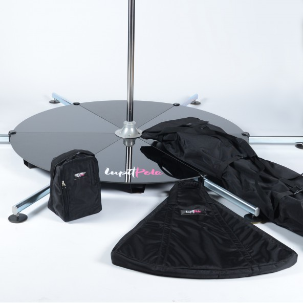 LUPIT POLE  - STAGE & BAGS, stainless steel, 45mm, LONG Legs