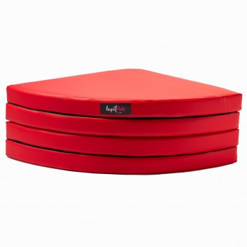 LUPIT POLE -  CRASH MAT STANDARD RED 8cm/ 3,14in
