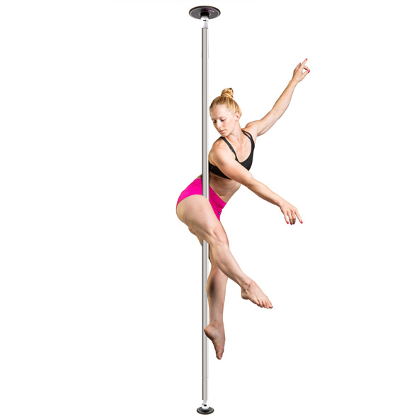 LUPIT POLE -  DIAMOND stainless steel 42mm removable pole